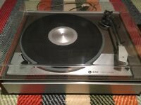2 x Rare Lenco turntables. Made in Switzerland. Quality build.