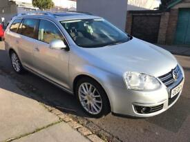 2008 Volkswagen Golf 2.0 TDI CR Sportline 5dr Estate Pan Roof FULL SERVICE HISTORY PANORAMIC SUNROOF
