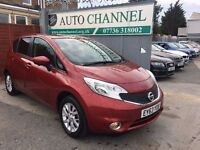 Nissan Note 1.2 Acenta Premium (Style Pack) 5dr£6,695 p/x welcome 1 YEAR FREE WARRANTY. NEW MOT