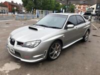 Subaru Impreza wrx STI TYPE UK 2.5 petrol turbo 2006