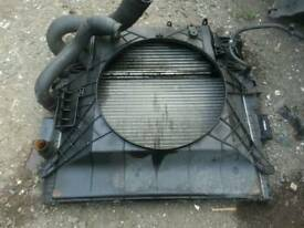 Iveco daily radiator. For 2.3 engine
