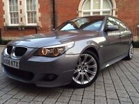 BMW 5 Series 2.0 520d M Sport 2008 FACELIFT ++ HUGE SPEC ++ LOADED ++not 530d 525d 535d
