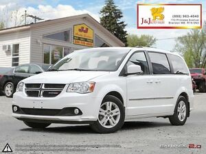 2013 Dodge Grand Caravan Crew Leather,DVD,P.Doors,C.Start