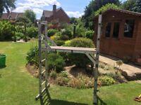 Abru combination ladder platform system