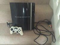 PlayStation 3 with white controller (collection)