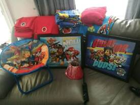 Paw patrol bedroom bundle