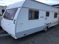 Burstner ventana/500 TS/4/berth 2005 fixed bed Full awning px welcome