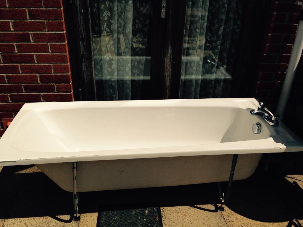 Bath With Pine Panels In Plymouth Devon Gumtree