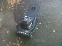 Hayter Harrier 48 Auto Drive petrol mower with back roller