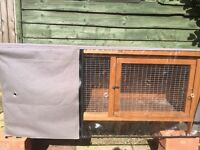 Rabbit/Guinea Pig Hutch with Waterproof cover