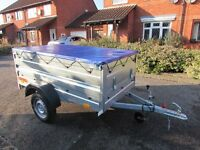 Car Double Broadside box trailer Mobility scooter trailer 750kg