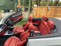 Bmw 320d msport red leather CONVERTIBLE