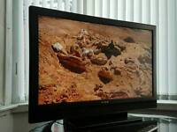 Sony 40 inch HD LCD TV built in Freeview