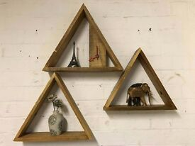 Geometrical Triangle Shelfs