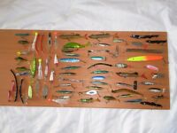 Assorted Fishing Lures Over 60 Pieces £15