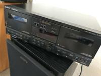 Sony TC-V7700 double cassette deck SPARES OR REPAIRS