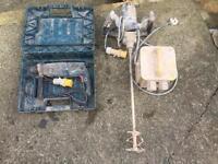 Drill and mixer