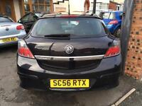 2007 VAUXHALL ASTRA 1.4 SXi 3DR COUPE ** STUNNING IN BLACK IDEAL VXR REP **