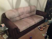 3 Seater sofa & armchair