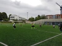 Last team space: Starting 13/5, Brixton Sunday 7 a-side Football league, 3G Pitch, online stats