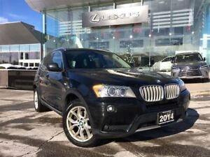 2014 BMW X3 xDrive28i Navigation Panoramic Roof Backup Cam