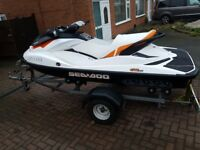 2011 Seadoo sea-doo GTI 130 jetski jet ski with only 34 Hours