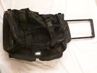 FREE : Black Holdall / Wheelie bag : Ideal for weekend away