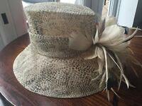 leopard pattern hat