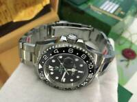 Rolex GMT Master 2 Black Dial Stainless Steel