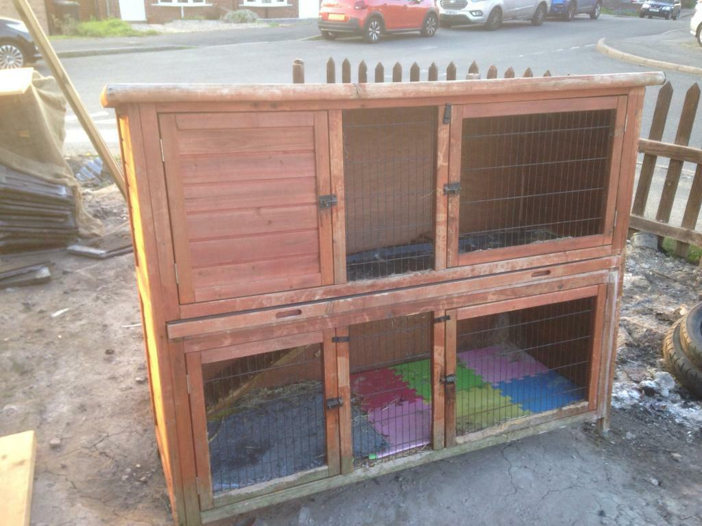 Rabbit Cage Hutch Collection Only From Awsworth Nottingham Near
