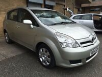 Toyota Corrolla Verso D-4-D 2.0 Litre Diesel 7 Seater only £2199