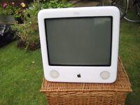 Apple emac Vintage working order White