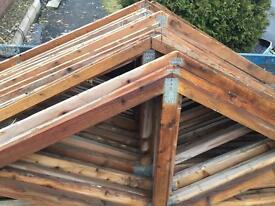 Single garage roof trusses! 16