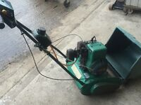 Lawn mower Suffolk Punch 30S petrol made by Qualcast powered by a single cylinder Briggs & Stratton