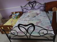 double frame WITHOUT MATTRESS