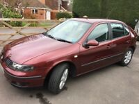 FSH Seat Leon TDI - reliable, economical, cheap tax and insurance, mechanically sound run around.