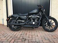 Harley Davidson Iron 883 *670 miles*