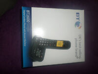 BT DIGITAL CORDLESS HOME PHONE WITH ANSWERPHONE BN