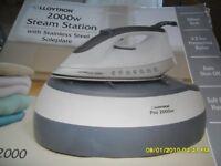 lloytron 2000w steam station
