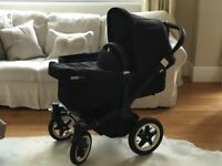Bugaboo Donkey Duo All Black Full Travel System