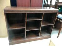 Solid wood bookcase FREE DELIVERY PLYMOUTH AREA