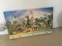 Dinosaur canvas