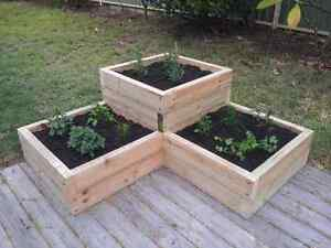 Wooden Pine  Planter Box Outdoor Planter Box Herb Planter Box Paradise Point Gold Coast North Preview