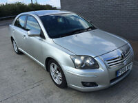2006 56 plate toyota Avensis T3-X D-4D diesel 2.0 NEW 1 years MOT Good driver Air Con