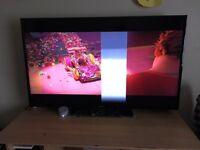 TV - LED FULL HD - Panasonic 50 inch TV - Brilliant condition - Remote and BOX