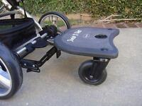 Buggy board with seat and strap (2 in 1 junior ride)