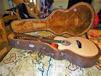 LEFT HANDED- Faith FV Natural Series Venus Cutaway Concert Electro Acoustic Guitar w/Hardcase