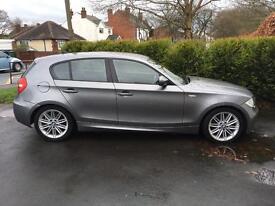 BMW 118 d M sport 1 series 2011 58k