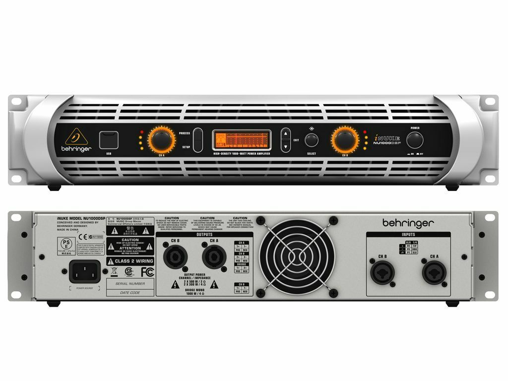 Behringer Nu1000 Dsp Inuke 1000w New Others Original Box