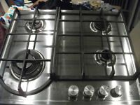 STEEL GAS HOB